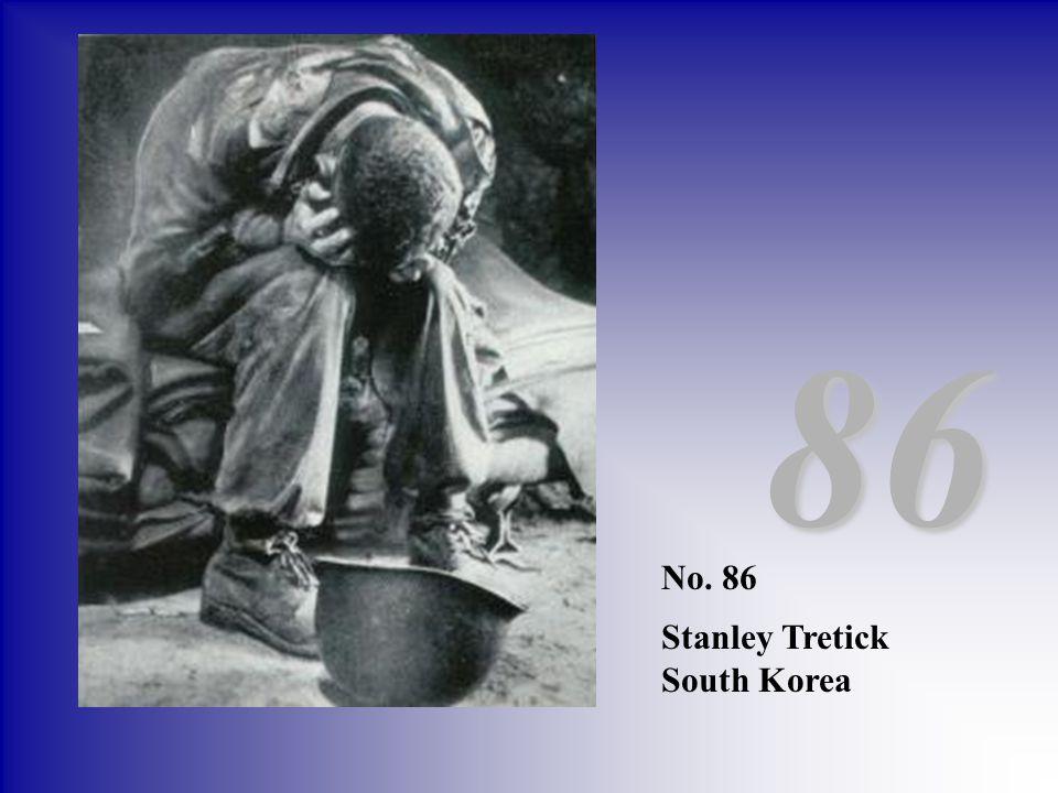 No. 86 Stanley Tretick South Korea 86