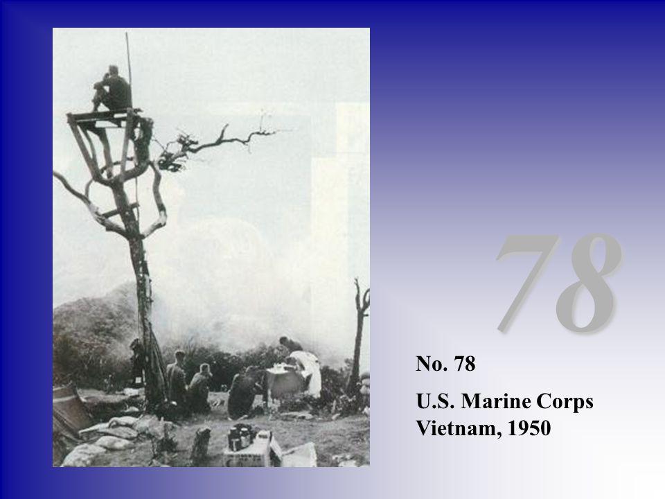 No. 78 U.S. Marine Corps Vietnam, 1950 78