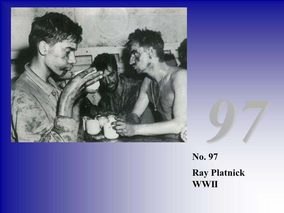 No. 97 Ray Platnick WWII 97