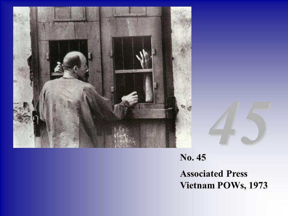 No. 45 Associated Press Vietnam POWs, 1973 45