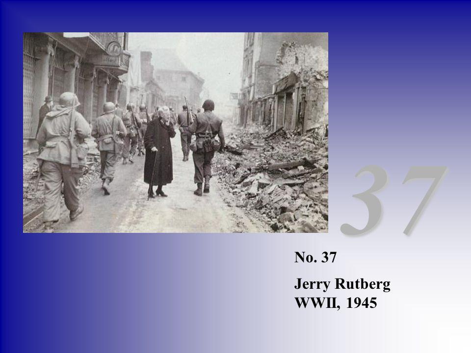 No. 37 Jerry Rutberg WWII, 1945 37
