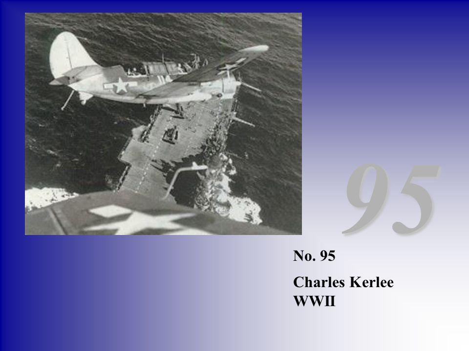 No. 95 Charles Kerlee WWII 95