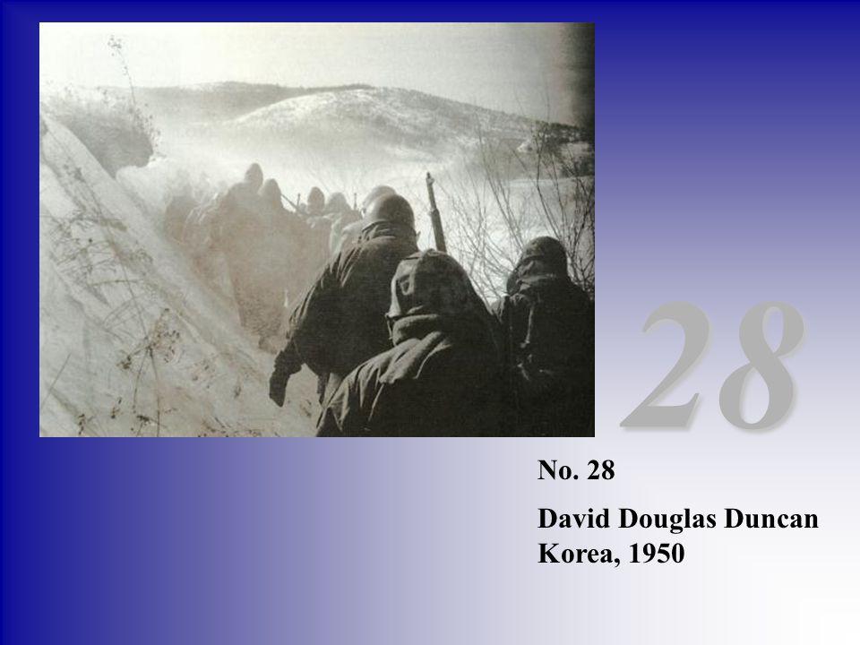 No. 28 David Douglas Duncan Korea, 1950 28