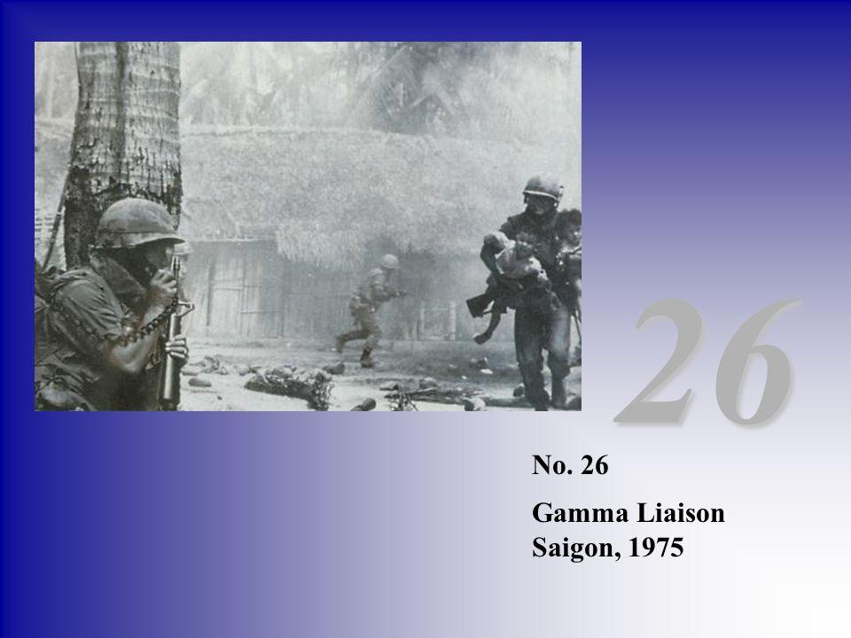 No. 26 Gamma Liaison Saigon, 1975 26