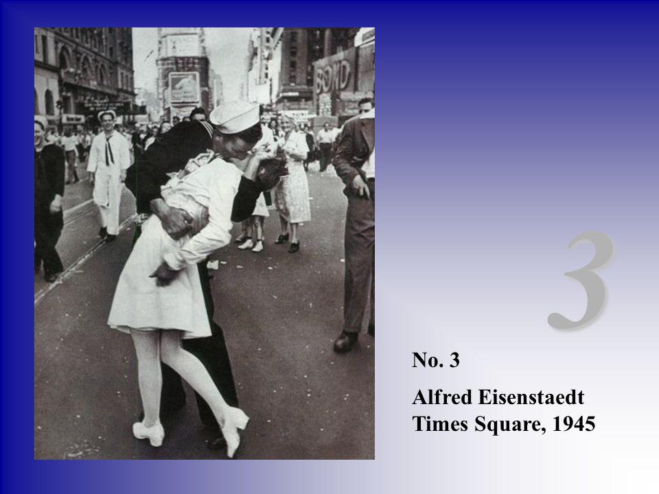 No. 3 Alfred Eisenstaedt Times Square, 1945 3