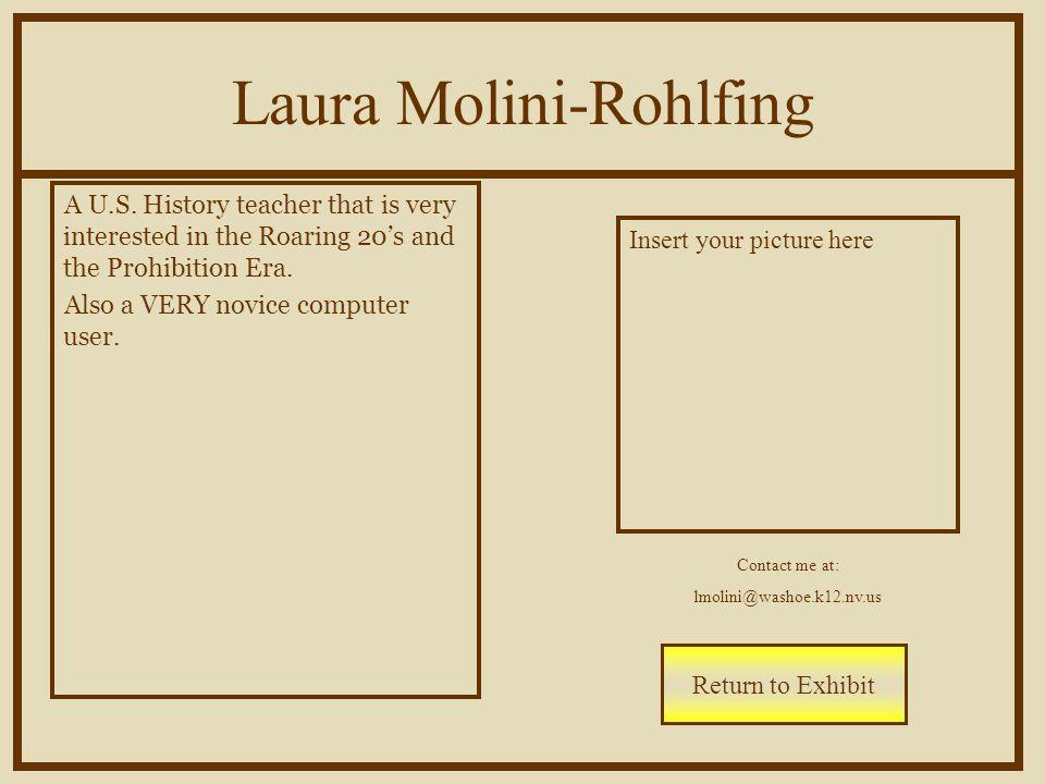 Laura Molini-Rohlfing A U.S.