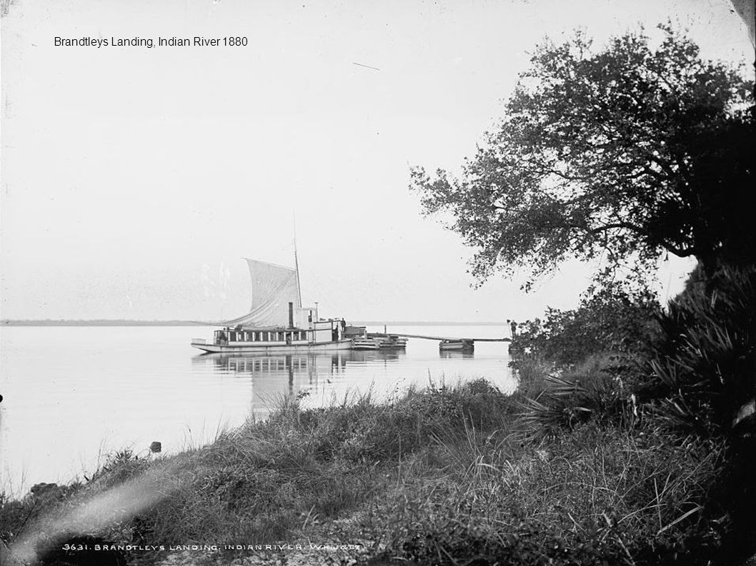 Brandtleys Landing, Indian River 1880