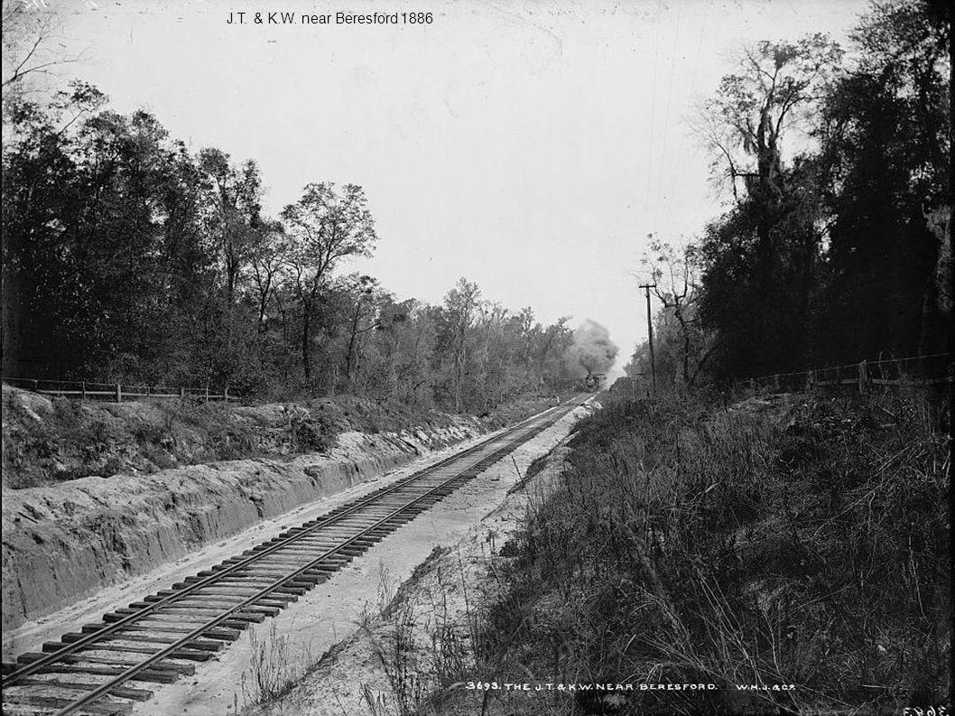 J.T. & K.W. near Beresford 1886