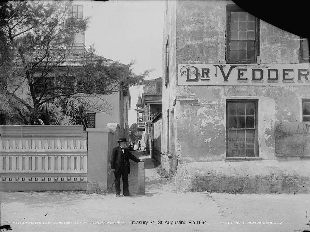 Treasury St., St. Augustine, Fla.1894