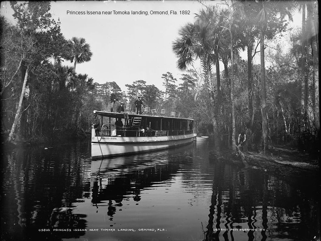 Princess Issena near Tomoka landing, Ormond, Fla. 1892