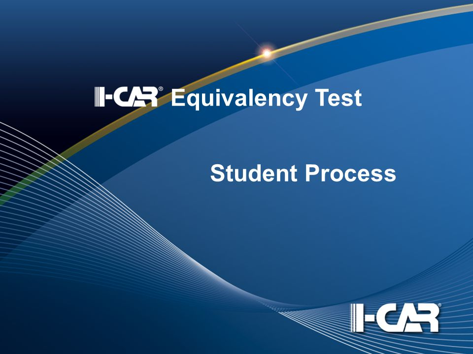 Student Process Equivalency Test
