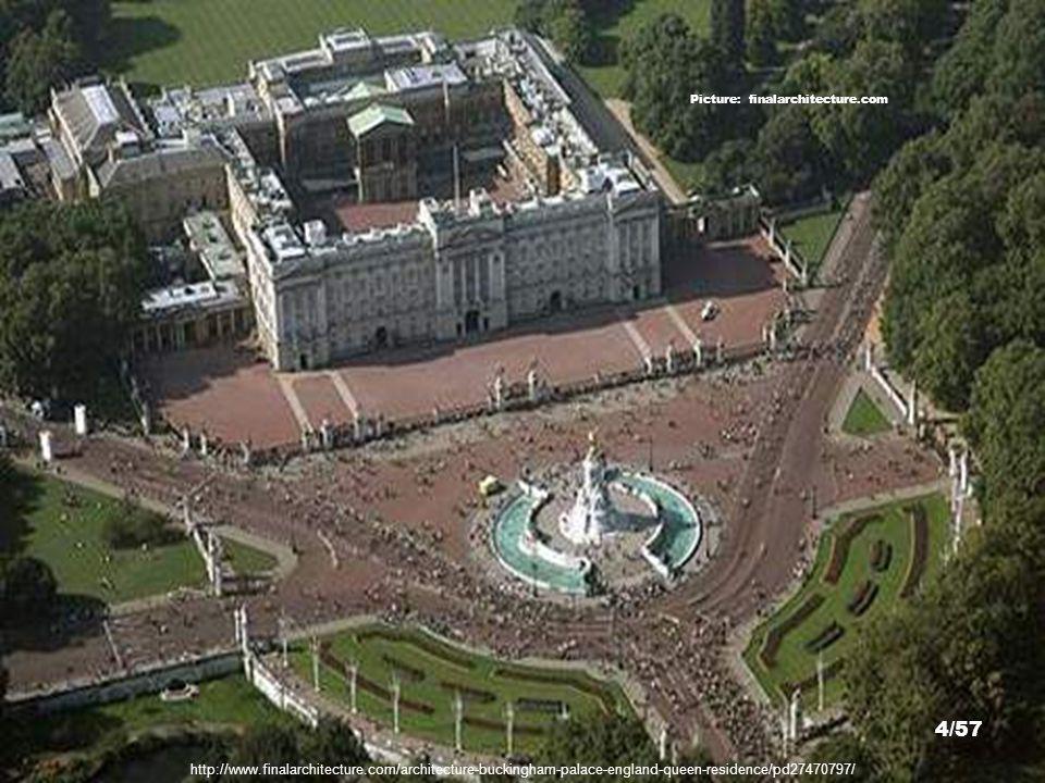 (Buckingham Palace St. James Park 1703 CGZ