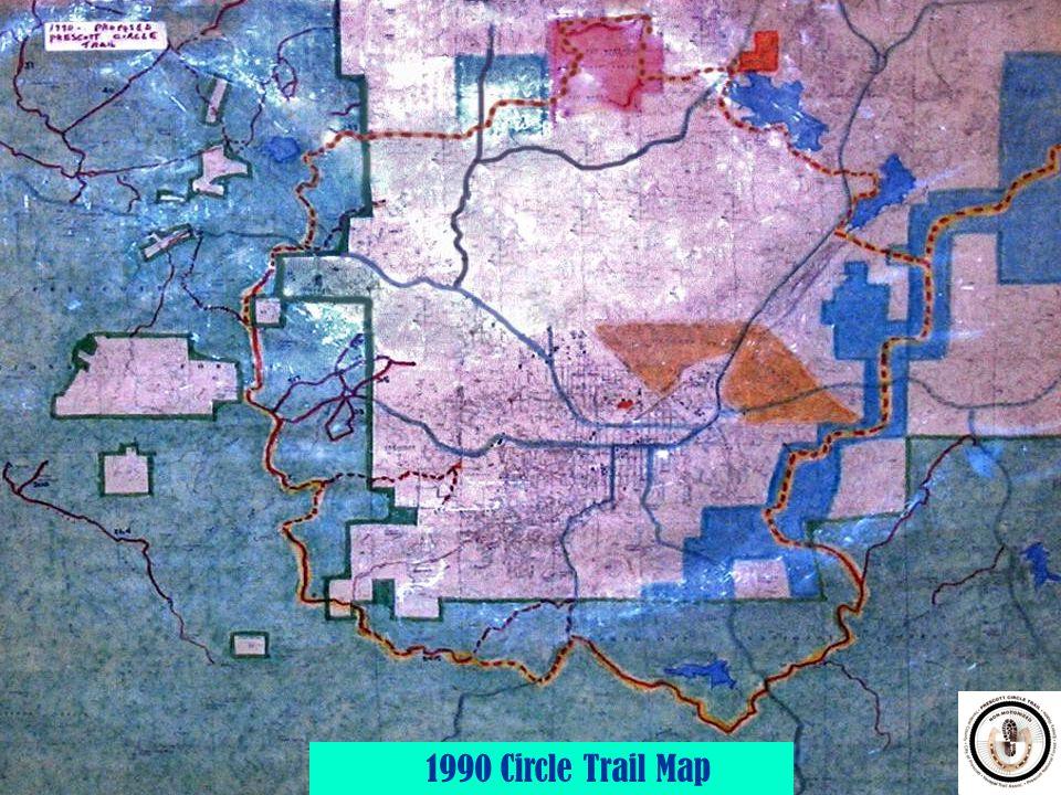 4 1990 Circle Trail Map