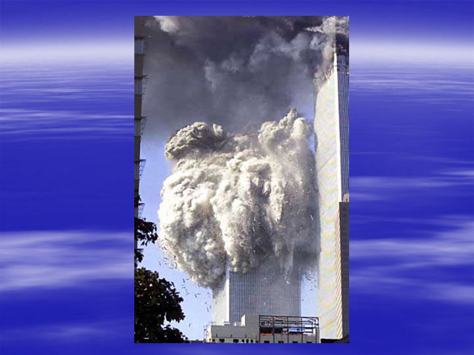 South Tower Collapsing