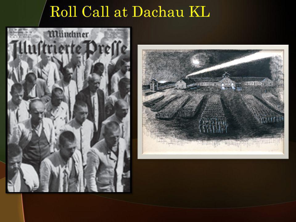Roll Call at Dachau KL