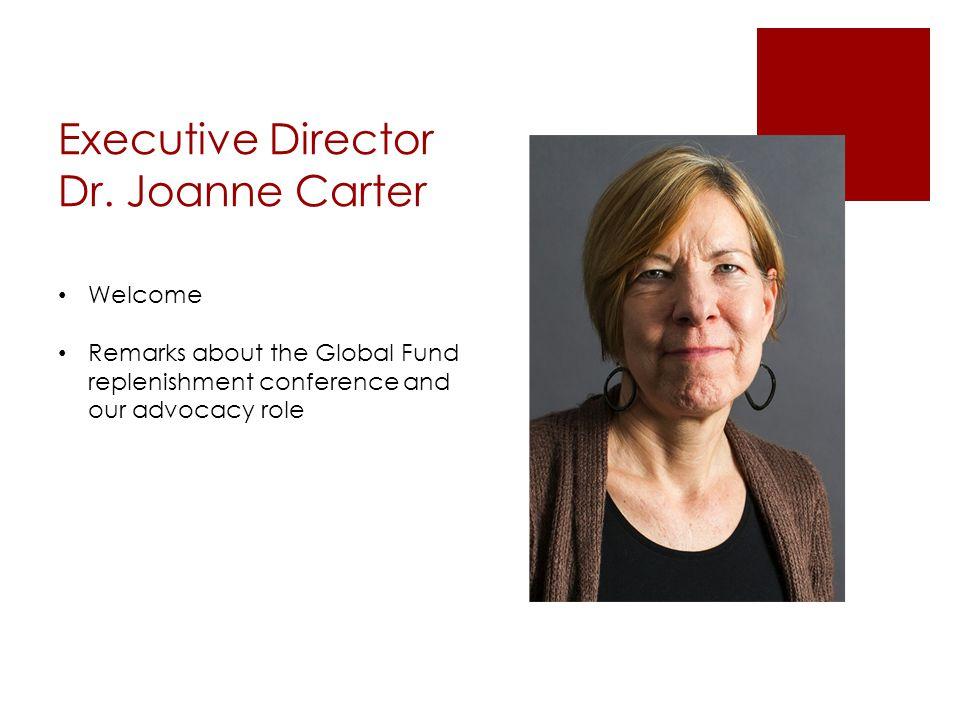 Executive Director Dr.