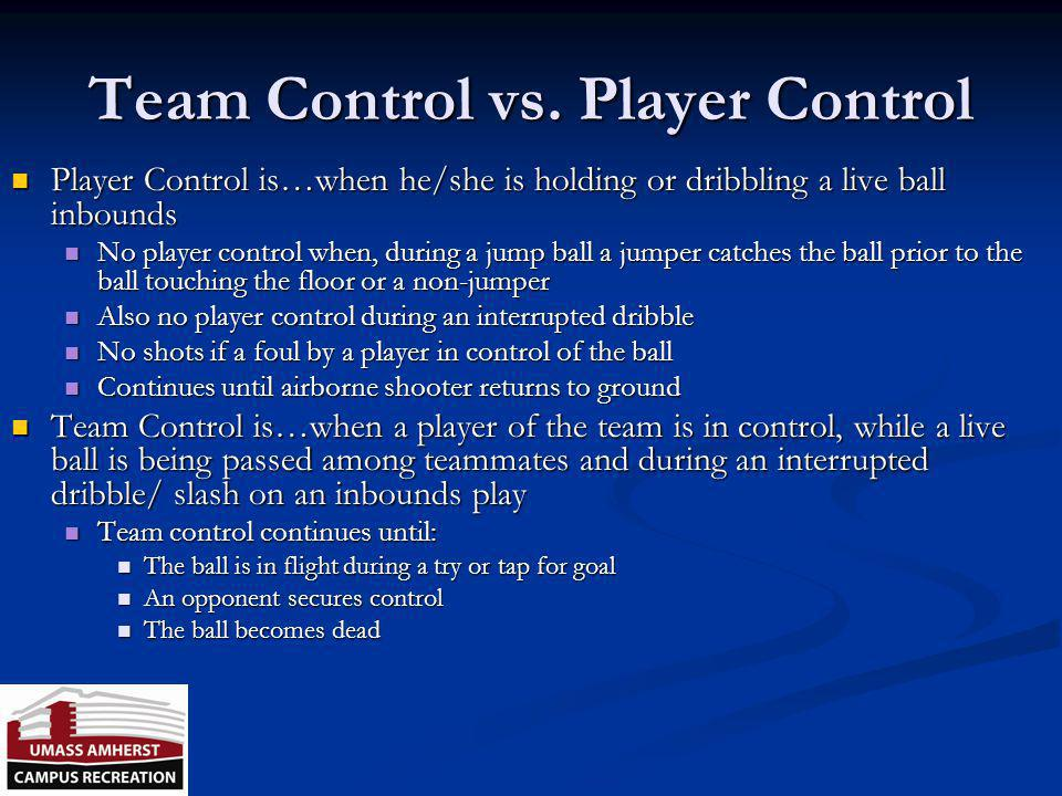 Screens Illegal Screens are not player control fouls, but could be a team control foul Illegal Screens are not player control fouls, but could be a te