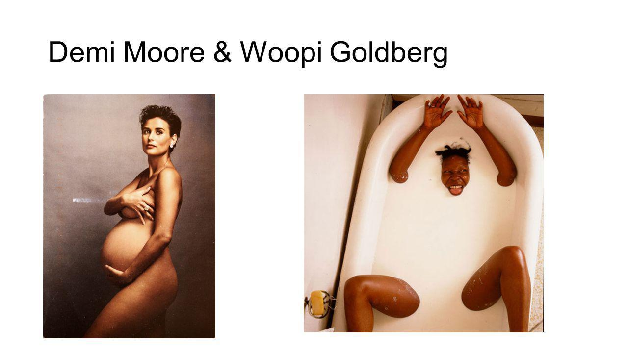 Demi Moore & Woopi Goldberg