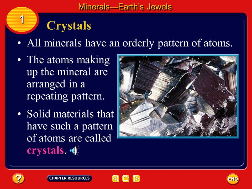 Each mineral has a set of physical properties that can be used to identify it. Most common minerals can be identified with items you have around the h