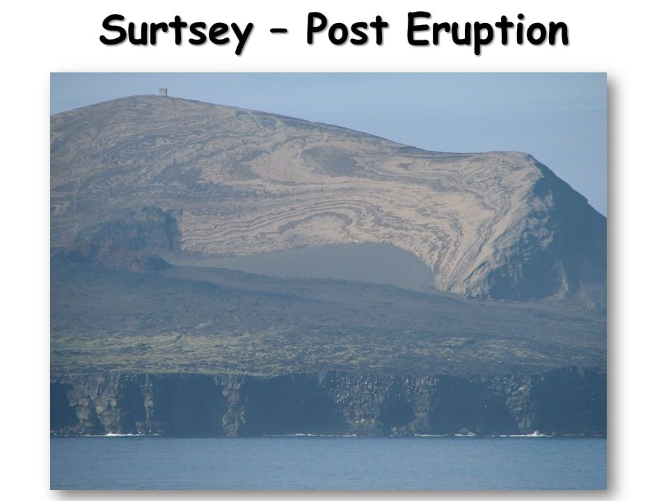 Surtsey – Post Eruption
