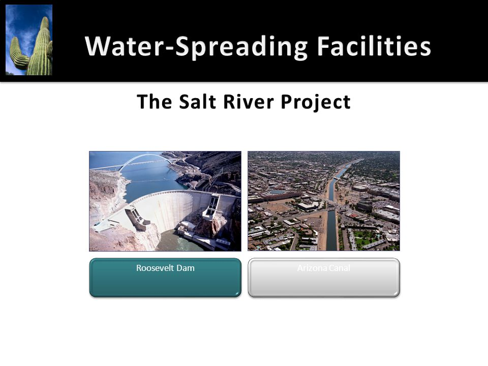 Water-Spreading FacilitiesWater-Spreading Facilities Roosevelt Dam Arizona Canal