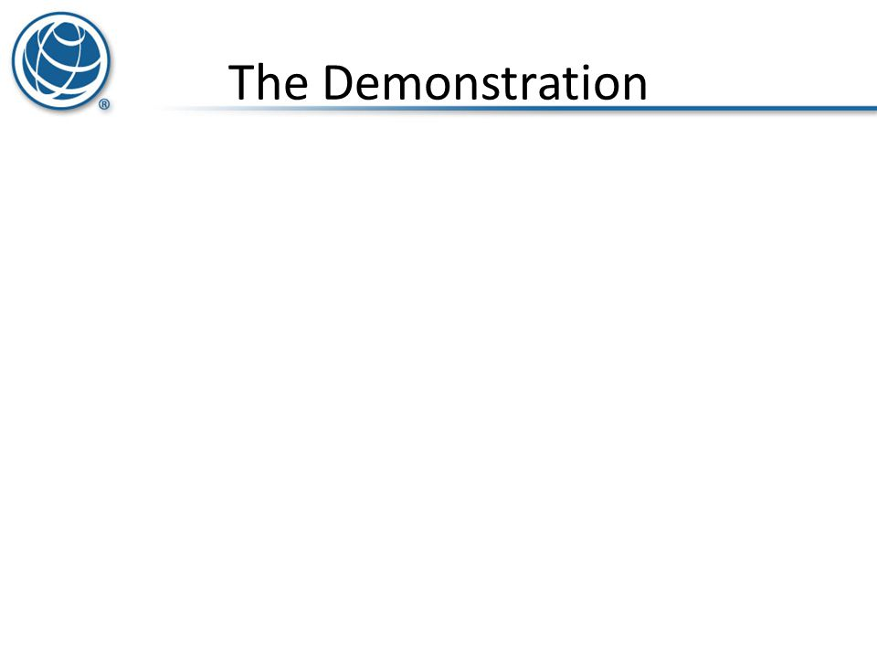 The Demonstration