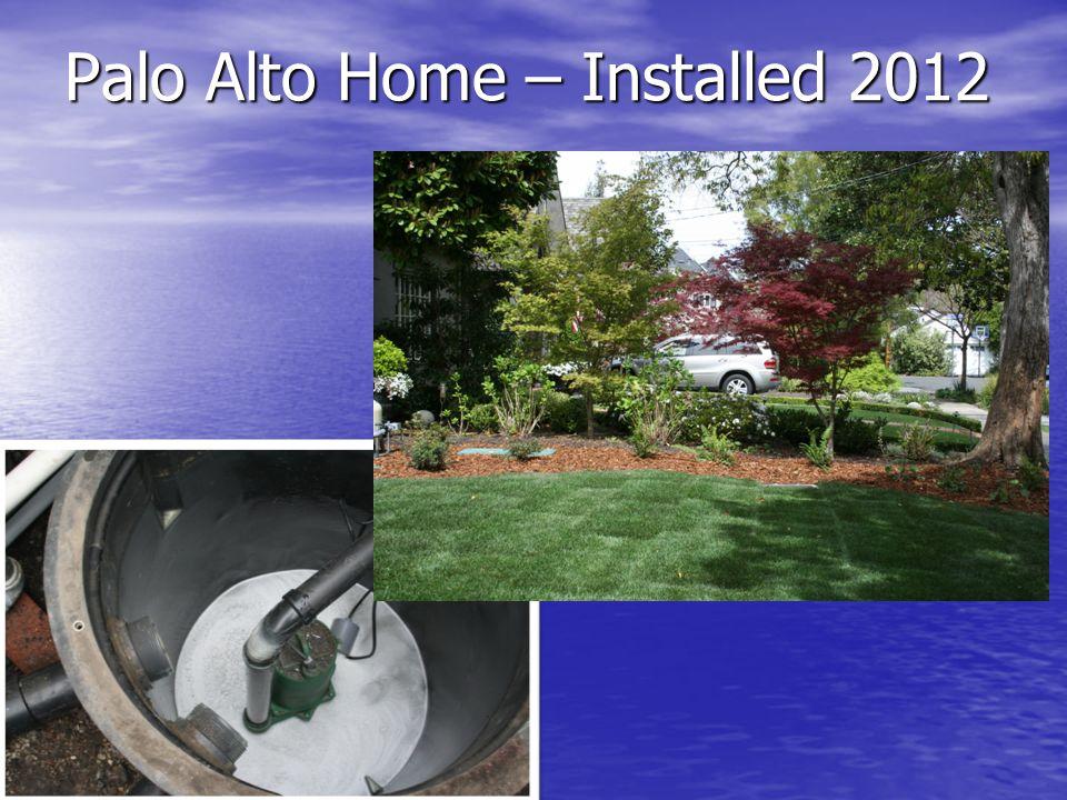 Palo Alto Home – Installed 2012