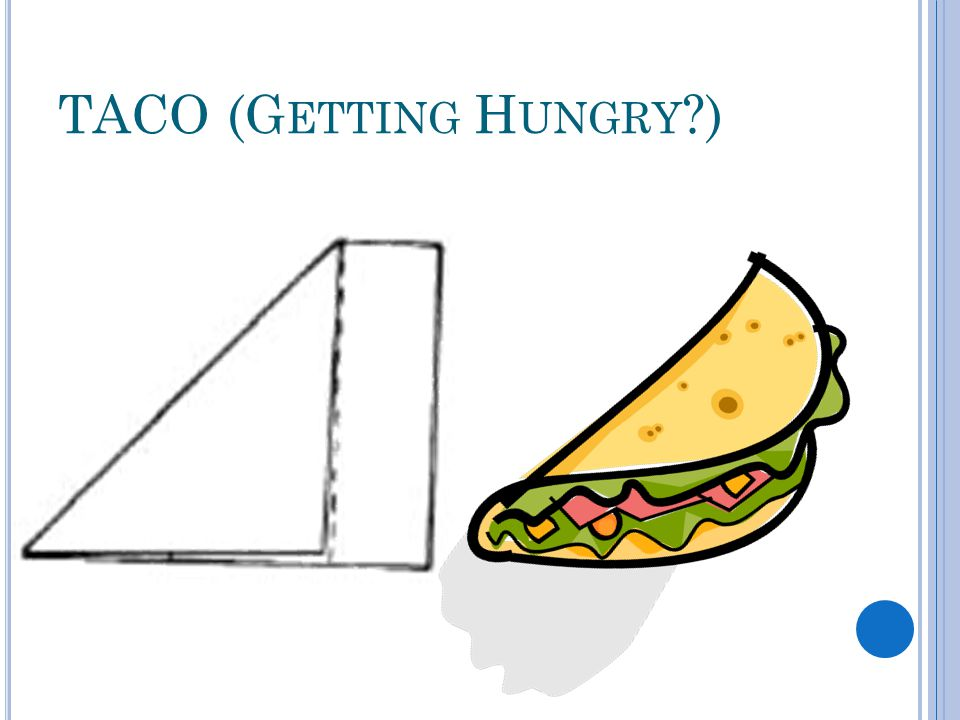 TACO (G ETTING H UNGRY )