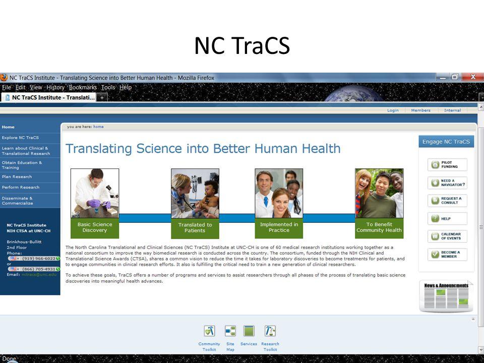 NC TraCS