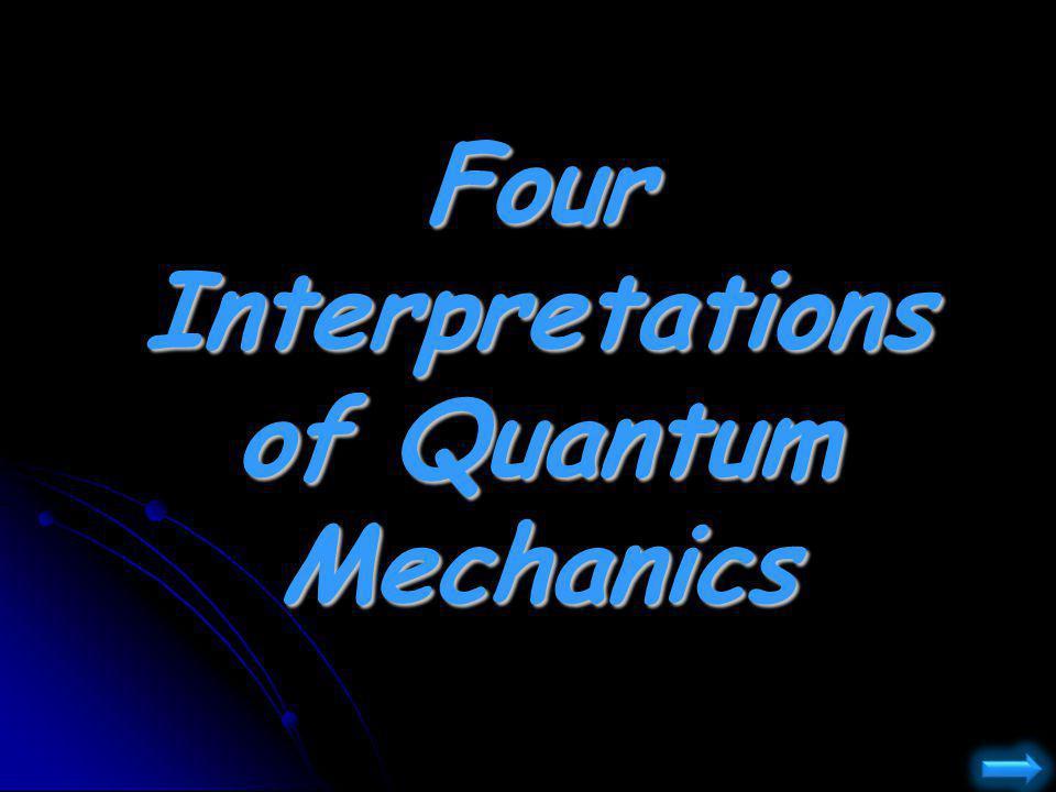 Four Interpretations of Quantum Mechanics