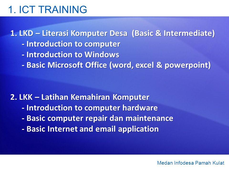 1. ICT TRAINING 1.