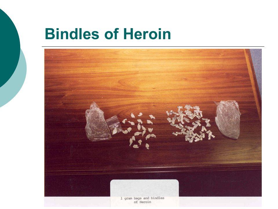 Bindles of Heroin