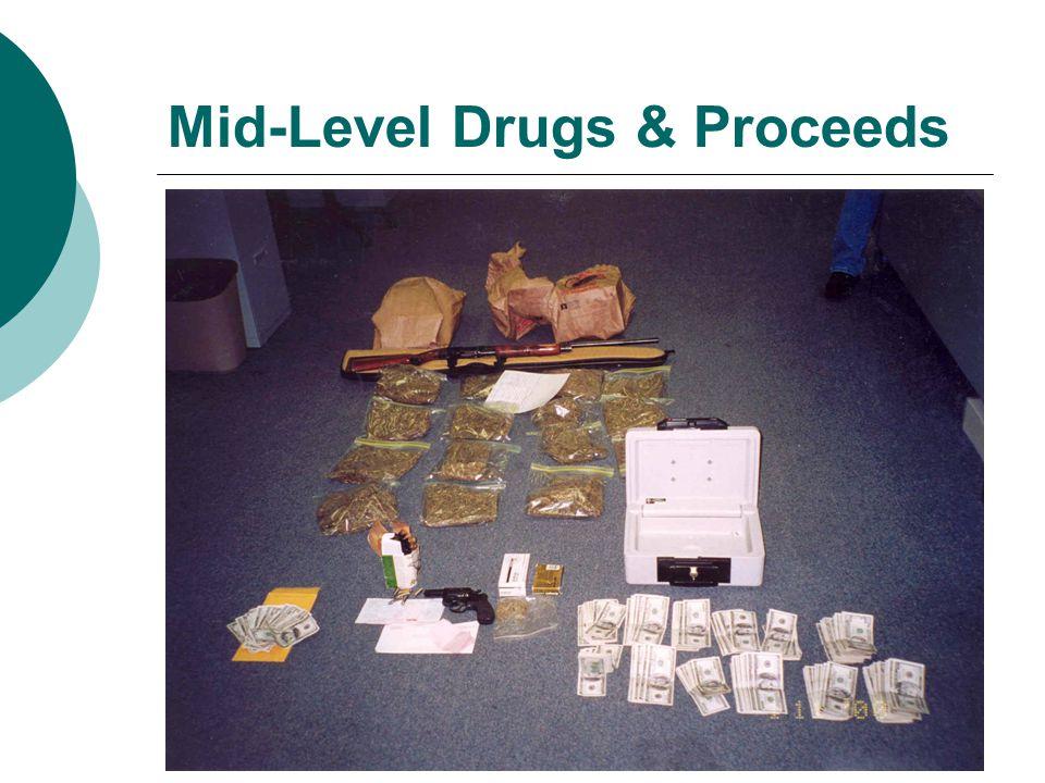 Mid-Level Drugs & Proceeds