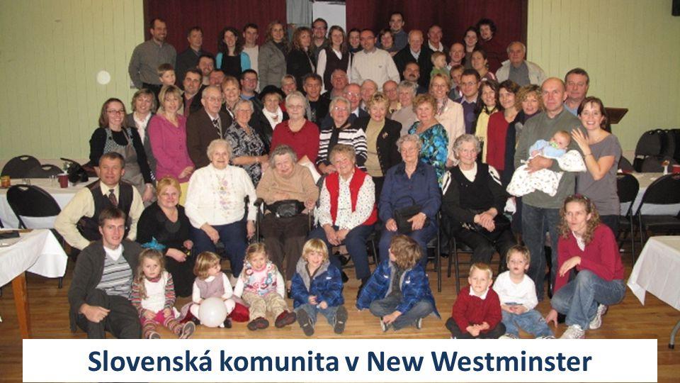Slovenská komunita v New Westminster