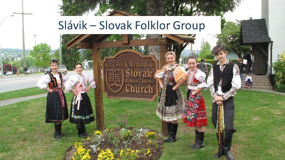 Slávik – Slovak Folklor Group
