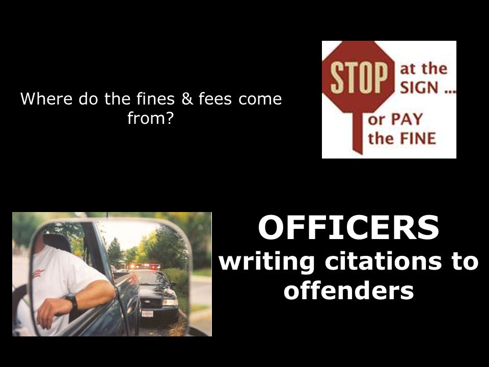 Clerks Office efforts to collect all fines and fees: Contracted a collection agency in 2005 October 2005 to June 2008 in delinquent traffic fines have