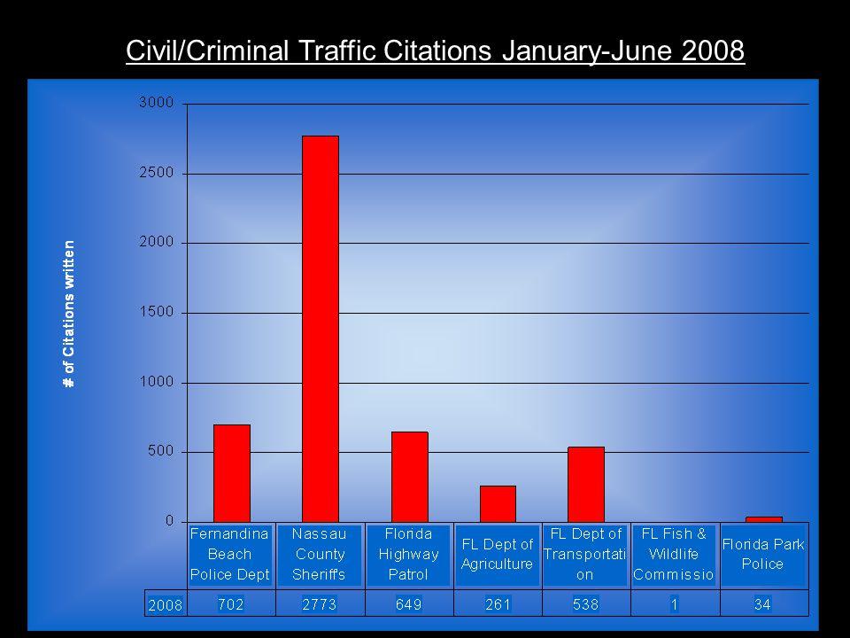 Civil/Criminal Traffic Citations