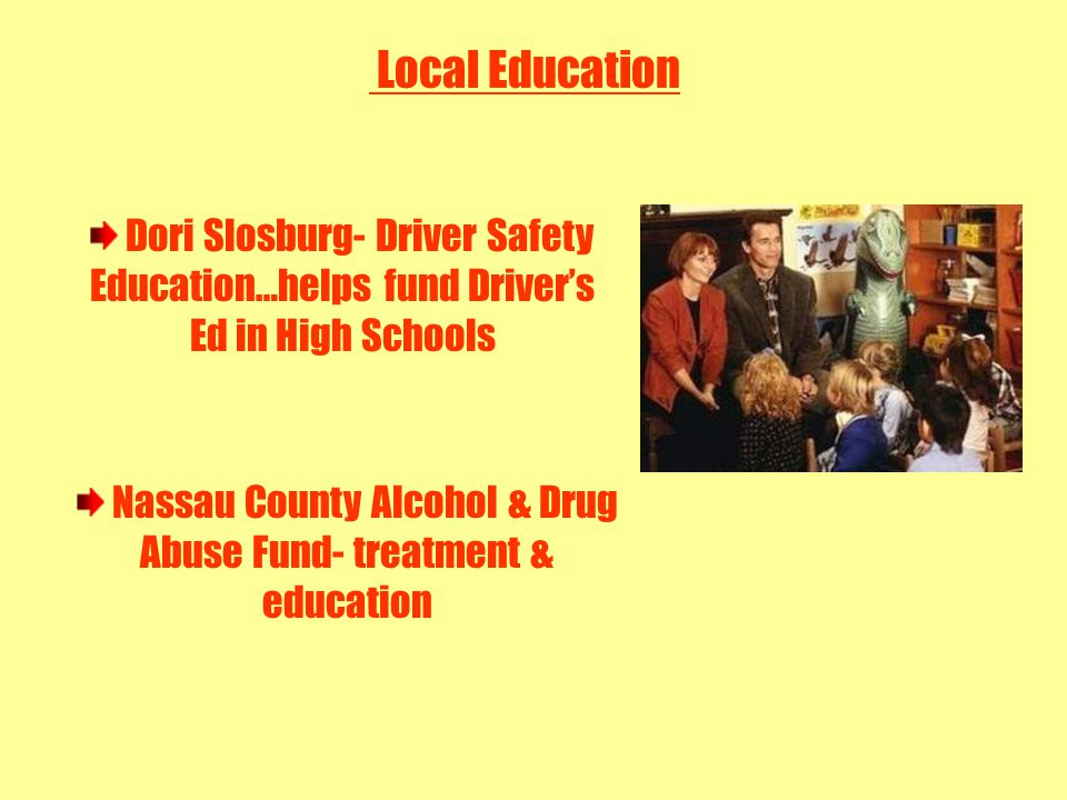 LOCAL LAW ENFORCEMENT Radio Communications Program Local Law Enforcement Education Crime Prevention Fund Workshops, meetings, conferences, conventions