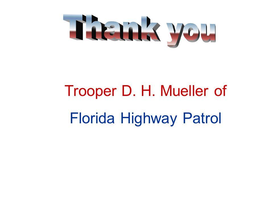 Officer Kenneth Johnson of Florida Department of Transportation