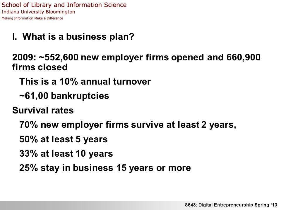 S643: Digital Entrepreneurship Spring 13 II.