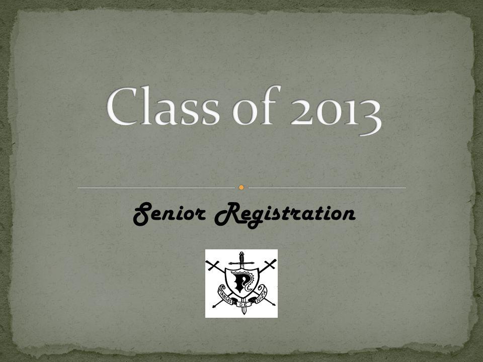 Senior Registration