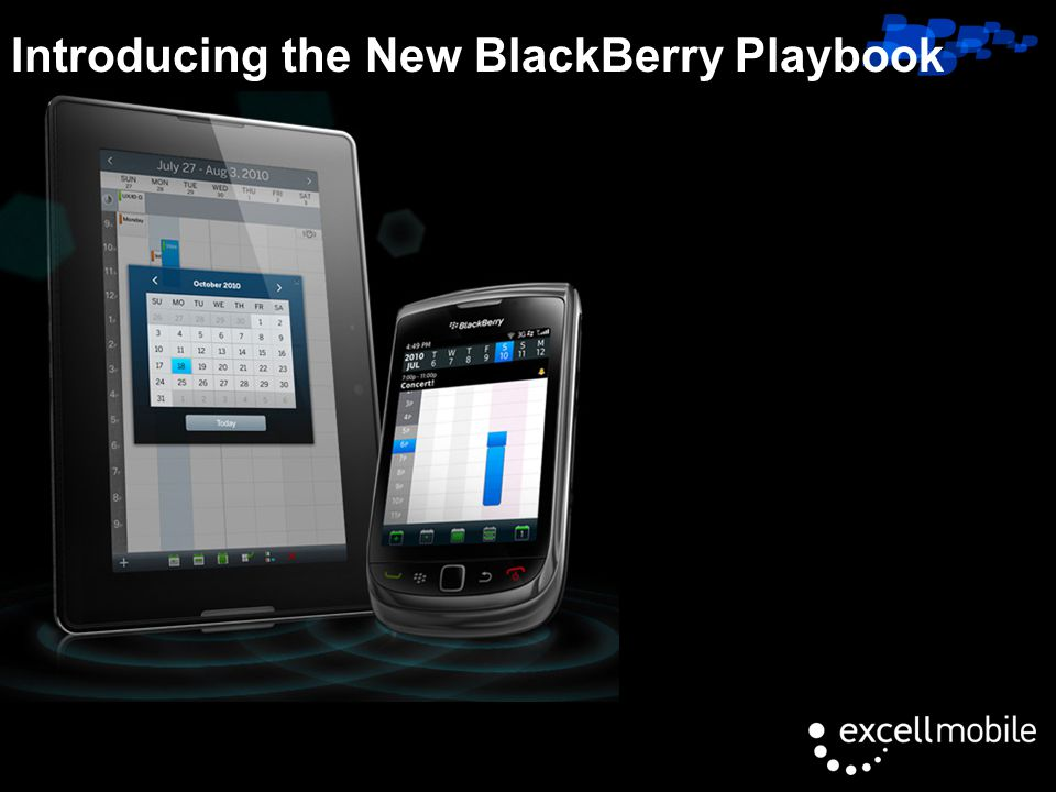Click to edit Master title style Introducing the New BlackBerry Playbook