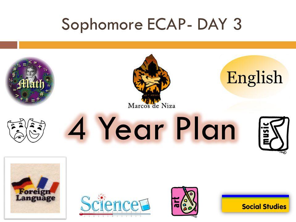 Sophomore ECAP- DAY 3