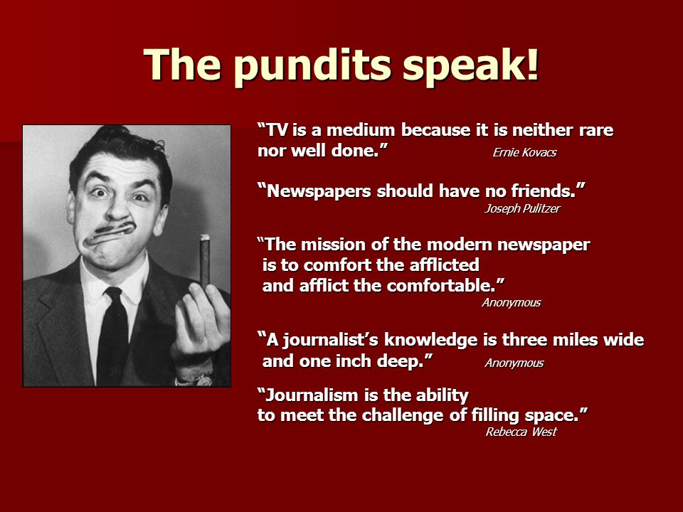How does the media think? ProcessthinkersvsIntuitivethinkers