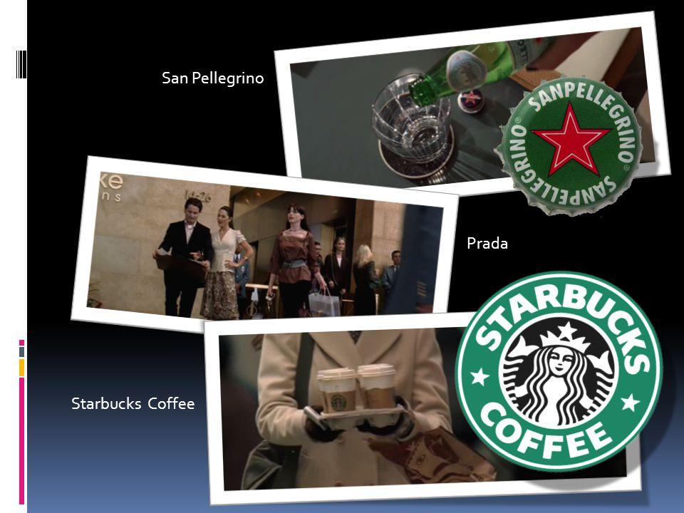 San Pellegrino Starbucks Coffee Prada
