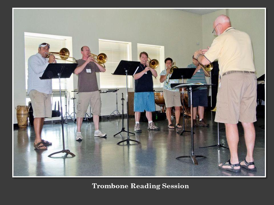 Trombone Reading Session