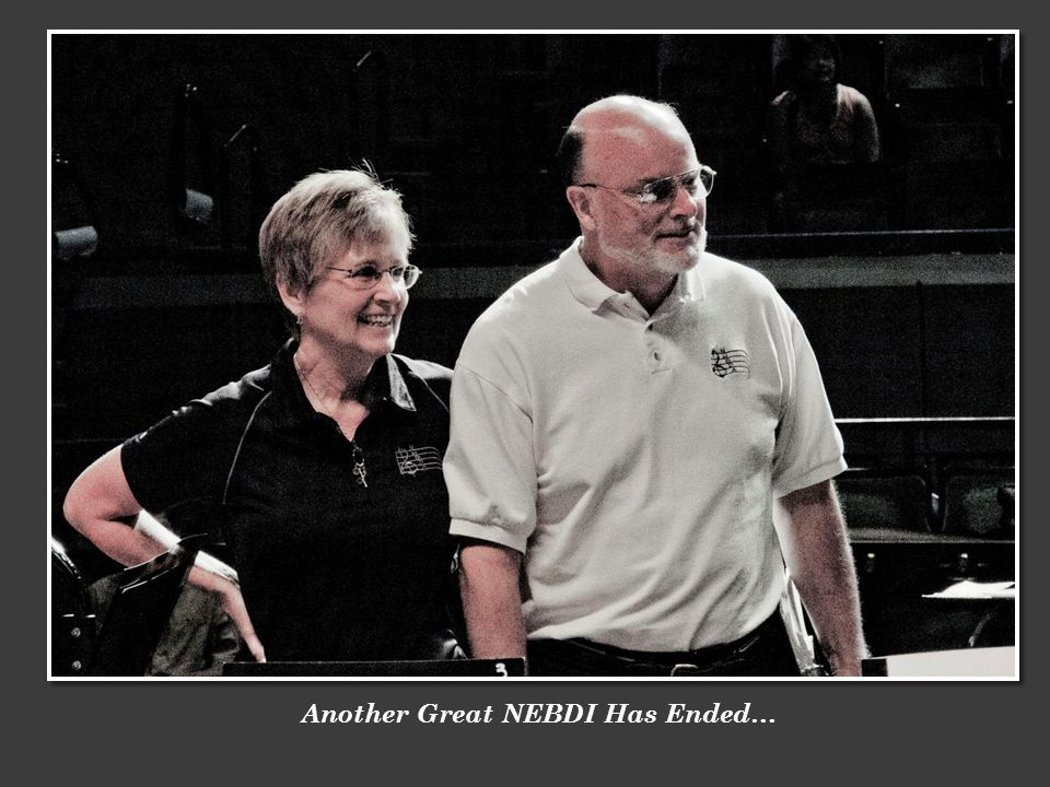 Another Great NEBDI Has Ended…