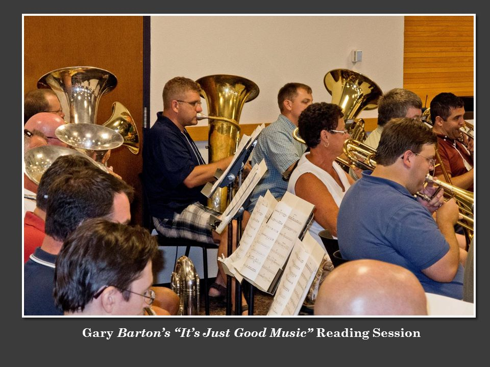 Gary Bartons Its Just Good Music Reading Session