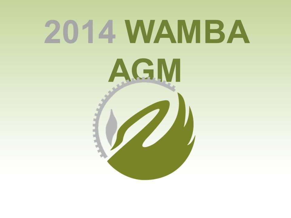 2014 WAMBA AGM