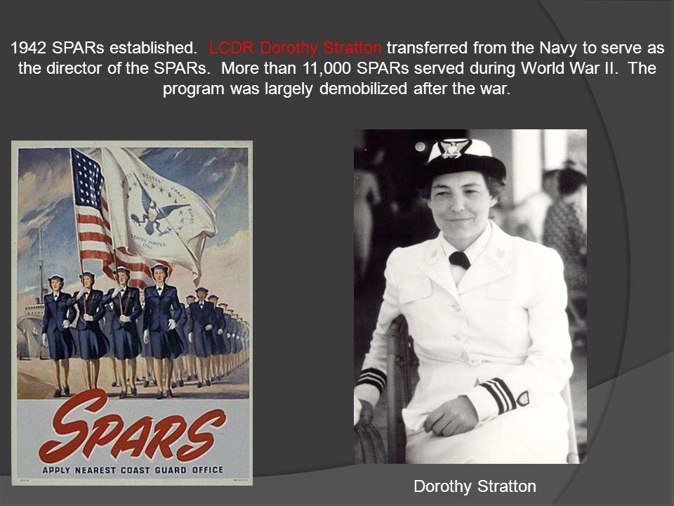 1942 SPARs established.